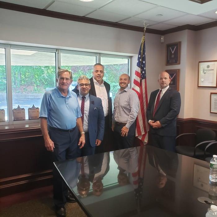 210611 Long Island Chapter meets Rep. Andrew Garbarino