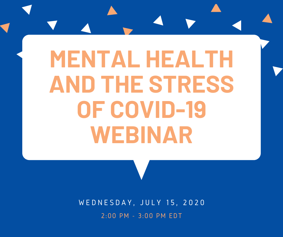Mental health and the stress of covid-19 webinar