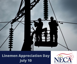 Linemen Appreciation Day July 10