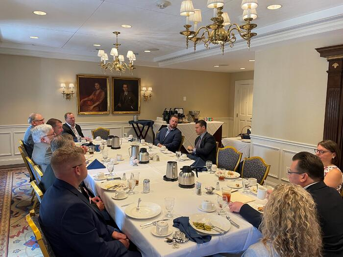 Southern Indiana Chapter with Sen. Todd Young 210715